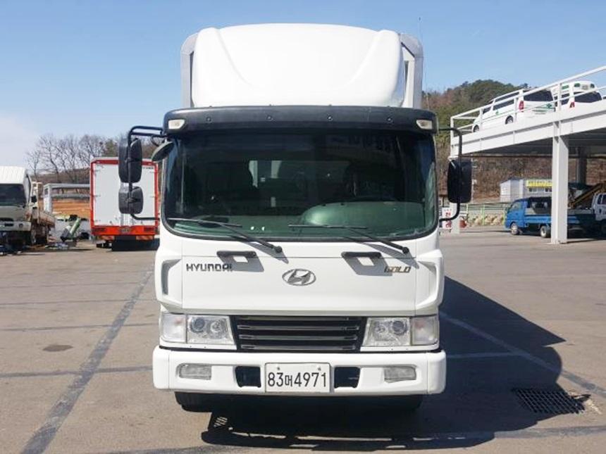 메가트럭 5톤투윙바디 초장축 윙길이730 광폭 높이245 신조 무사고