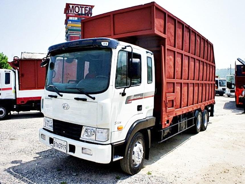 메가트럭 집게차 히아브12000XG 집게차 인증차량 2012년 3월식
